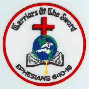 Warriors of the Sword Christian Martial Arts logo